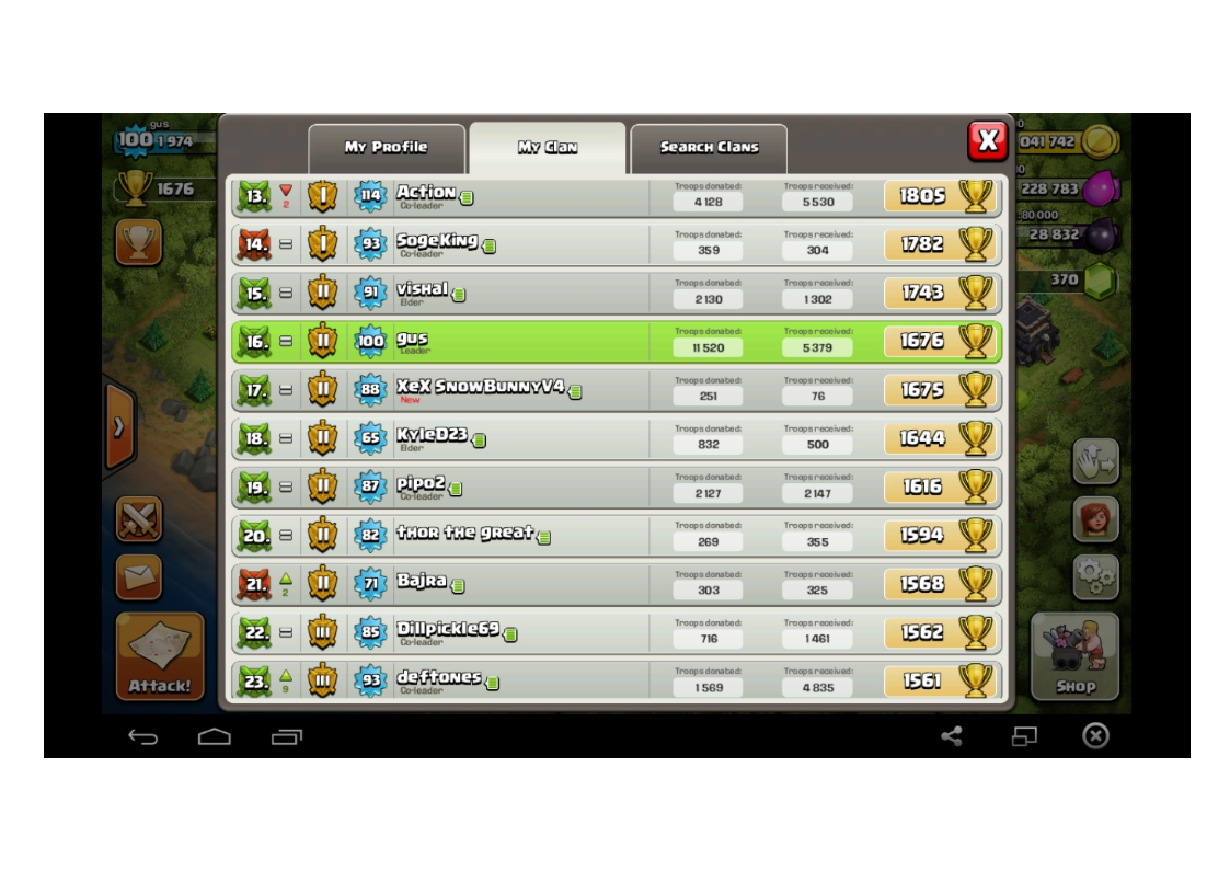 Best Donating Clan For Coc